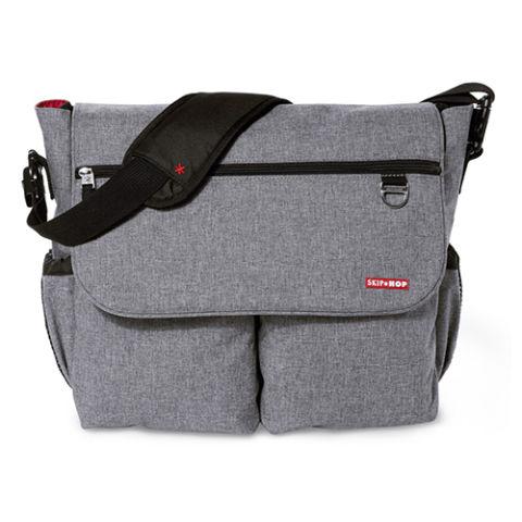 skiphop-dash-signature-diaper-bag-heather-gray