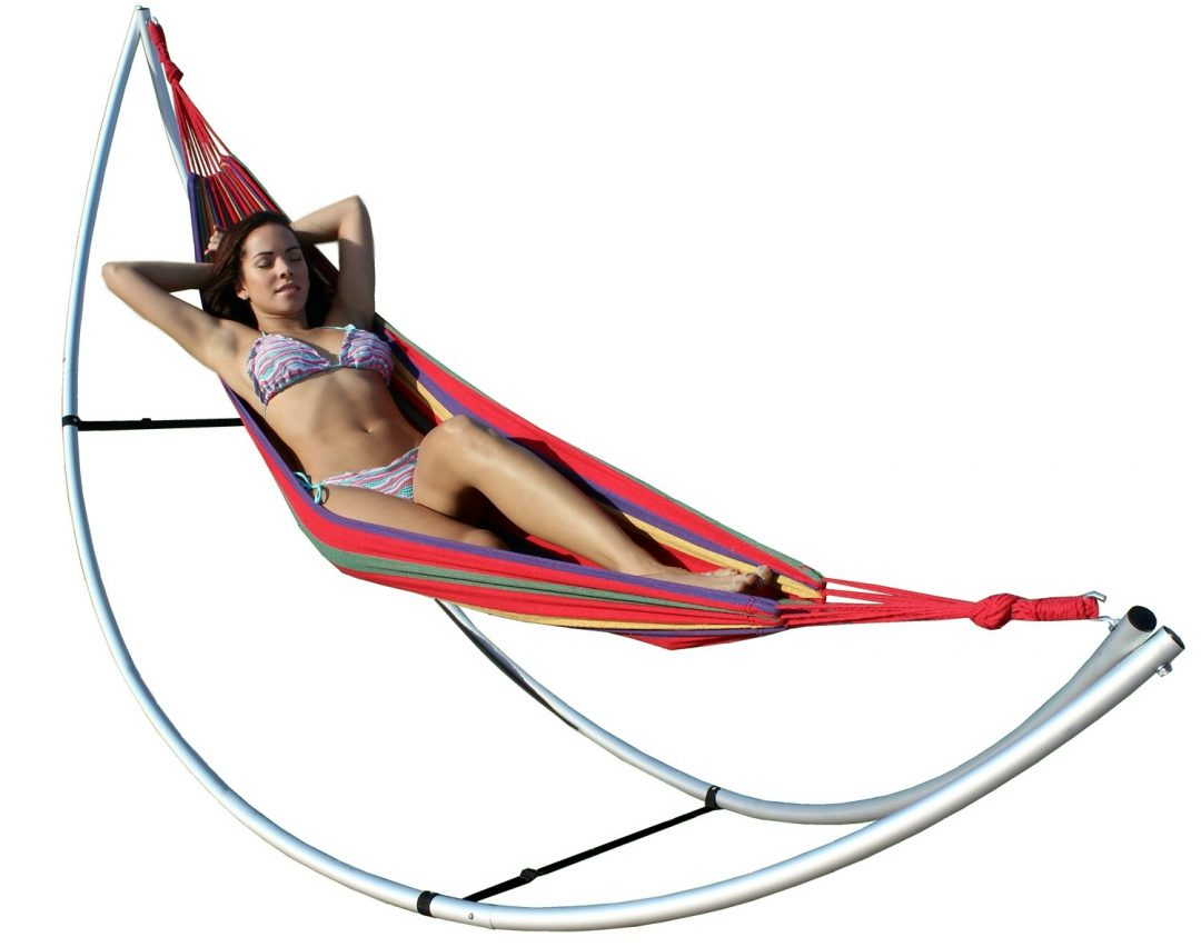 girl-in-folding-hammock