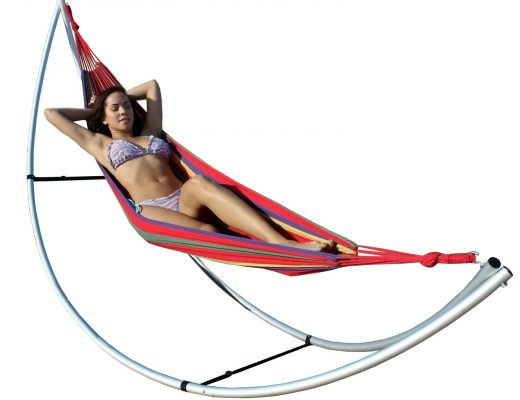 girl-in-folding-hammock