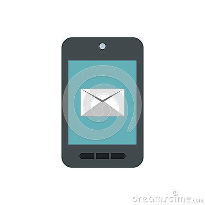 writing-e-mail-phone-icon-flat-style-isolated-white-background-message-symbol-82488829